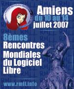 RMLL 2007 Amiens du 10 au 14 juillet