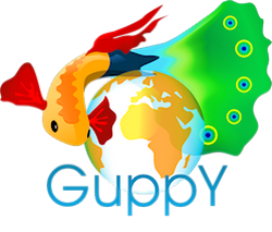 Guppy CMS Portal WEB in php free without BDD